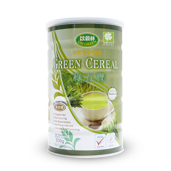 Oh Green Green Cereal