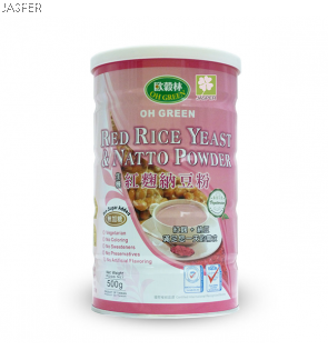 Oh Green Red Rice Yeast Natto Powder