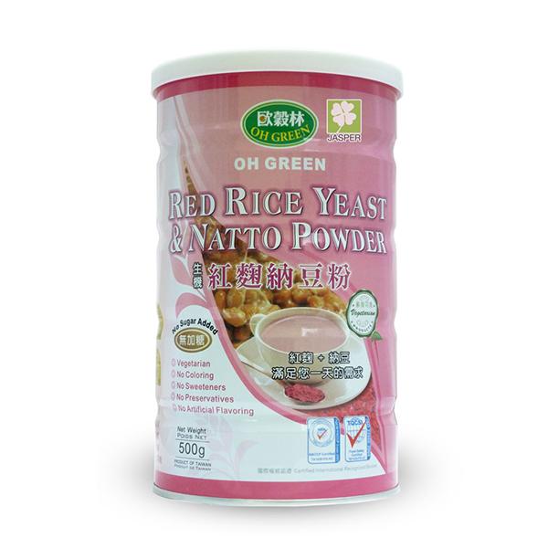 Oh Green Red Rice Yeast Natto Powder