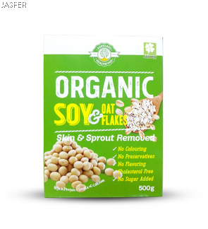 Kangland Organic Soy & Oat Flakes