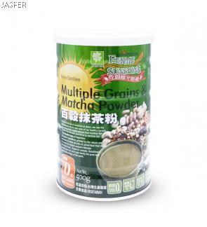 Ferme Sunshine Multiple Grains & Matcha Powder
