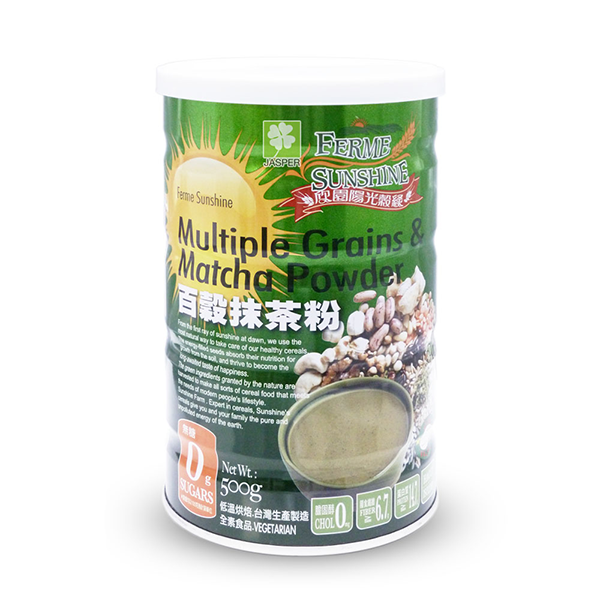 Ferme Sunshine Multiple Grains & Matcha Powder白谷抹茶