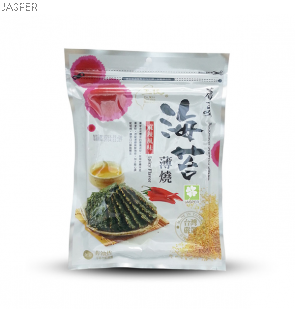 Buckwheat Seaweed Biscuit Spicy Flavor