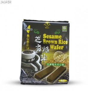 Sesame Brown Rice Wafer