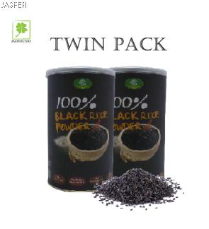 Jasper Product Oh Green 100% Black Rice Powder Twin Pack