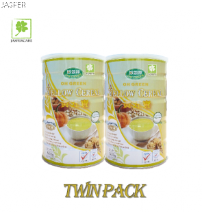 Jasper Product Oh Green Yellow Cereal (500g)Twin Pack