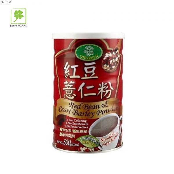 Jasper Product Oh Green Red Bean & Pearl Barley Powder (500g)