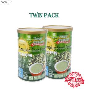 Jasper Product Ferme Sunshine Pumpkin Seed Powder Twin Pack (500g x 2)