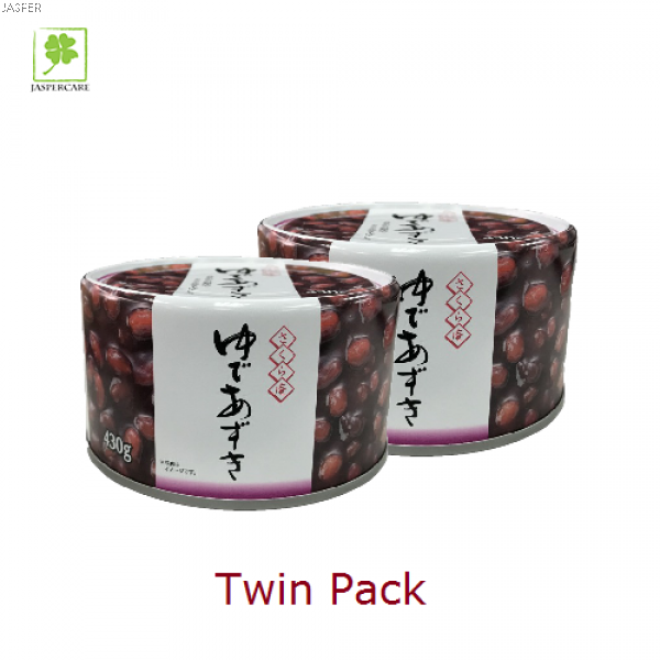Yude Azuki Red Bean Twin Pack 日本蜜红豆(430g x2)