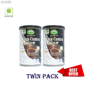 Oh Green Black Cereal Powder (600g) X 2
